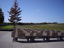 Benches at the Flight 93 Memorial