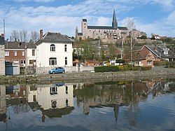 Lobbes on the river Sambre
