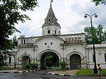 Tsar's Court in Izmailovo, front gate - 002.jpg