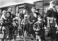 Expulsion of Sudeten Germans following the end of World War II