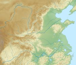 泰山在中国的位置
