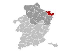 Kinrooi Limburg Belgium Map.png