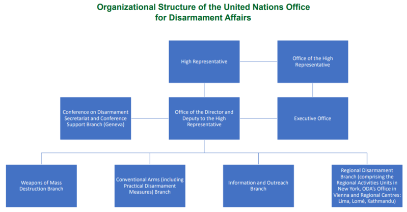 Structure of UNODA