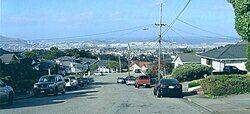望向旧金山湾