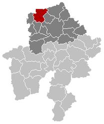 Gembloux Namur Belgium Map.png