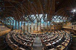 Debating Chamber of the Scottish Parliament