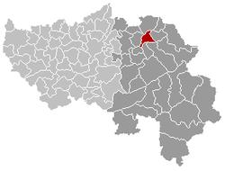 Welkenraedt Liège Belgium Map.png