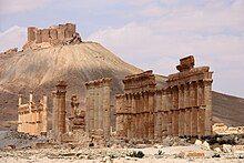 Diocletian's camp and Qasr Ibn Maʿan.jpg