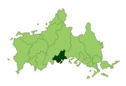 防府市位置图