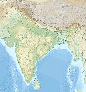 北森蒂纳尔岛在印度的位置