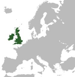 英格兰、苏格兰、爱尔兰共和国