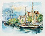 Lubeck — a main city of the Hanseatic League