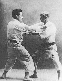 Jigoro Kano and Kyuzo Mifune (restoration).jpg