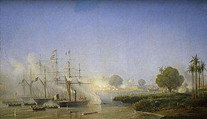 Prise de Saigon 18 Fevrier 1859 Antoine Morel-Fatio.jpg