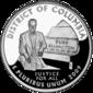 Washington, D.C., quarter dollar coin
