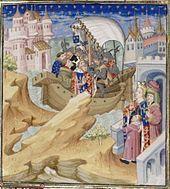 Painting of Isabella capturing Edward