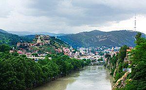 Tbilisi, Georgia — View of Tbilisi.jpg