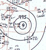 Typhoon Cora analysis 23 June 1961.png
