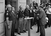 George Wallace protesting desegregation at the University of Alabama