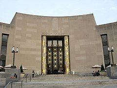 Brooklyn Public Library sunset jeh.JPG