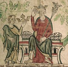 Picture of EdwardII being crowned