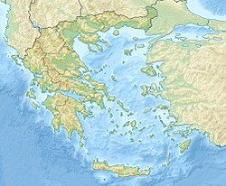 Location of the Thermaic Gulf within Greece