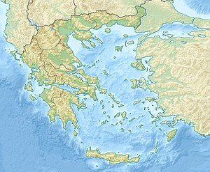 萨拉米斯战役在希腊的位置
