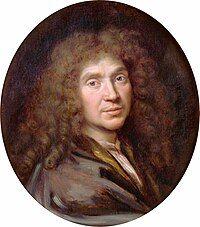 Portrait of Molière by Pierre Mignard (c.1658)
