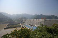 Photograph of the Son La Dam