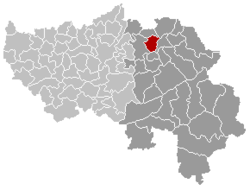 Thimister-Clermont Liège Belgium Map.png