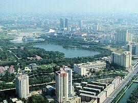 View from Tianjin TV Tower 1 Tianjin museum(small)(2008-08).JPG