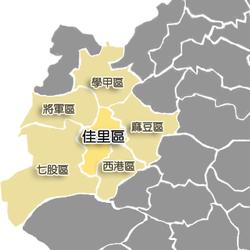台南市位置图