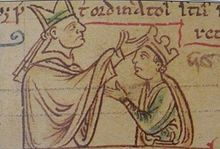 Sketch of Henry's second coronation