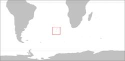 特里斯坦-达库尼亚 的位置