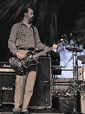Krist Novoselic performing in 2011
