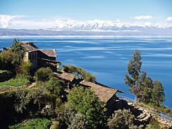 Lake Titicaca on the Andes from Bolivia.jpg