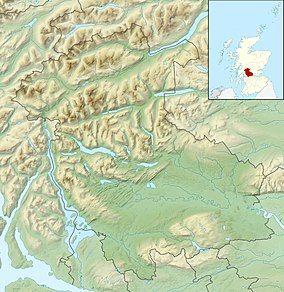 朝塞斯森林国家自然保护区 Great Trossachs Forest National Nature Reserve位置图