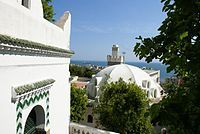 The view from Sidi Abder Rahman Mosque on the bay of Algiers.jpg