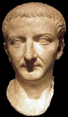 White bust