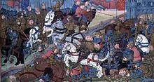 Guerre entre Thierry II (587-613) roi de Burgondie et Theodobert son frère en 612.jpg