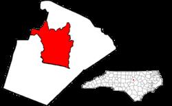 韦克县地图