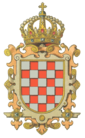 克罗地亚王国国徽