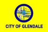 Glendale, California旗帜
