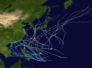 1949 Pacific typhoon season summary map.png