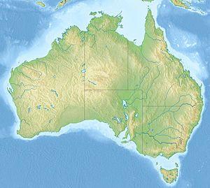 List of impact craters in Australia is located in Australia