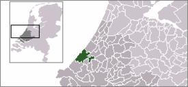 Den Haag 海牙的位置