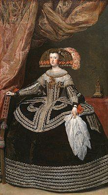 Mariana of Austria (Velázquez, c. 1652).jpg