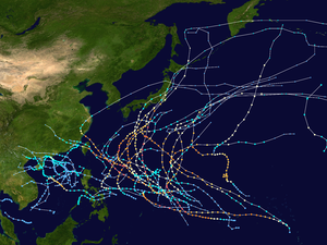 1958 Pacific typhoon season summary map.png