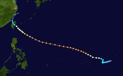 超强台风颱風吉達的路径图