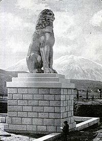 Lion of Chaeronea 1914.JPG